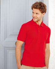 63204 FRUIT OF LOOM 65/35 HEAVYWEIGHT  PIQUE POLOSHIRT